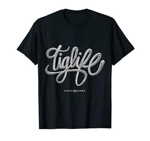 Tig Life Tig Camisas de soldadura para hombres Tig soldador regalo Camiseta