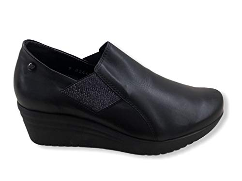 Mephisto Georgina Bottines Classiques pour Femmes Silk 7800 Black Taille : 36 EU