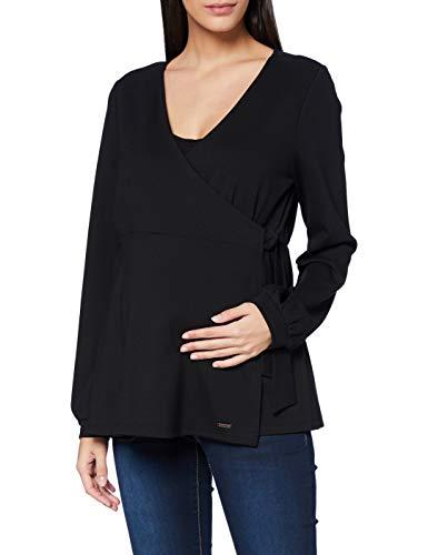 ESPRIT Maternity Damen Nursing ls T-Shirt, Gunmetal-15, M