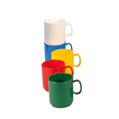WACA Henkel-Becher Tasse 5 Stück Camping-Geschirr