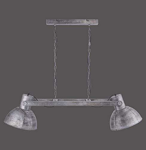 Leuchten Direkt 11483-77 SAMIA Pendelleuchte, eisen 2xE27 25W Innenleuchte, IP20