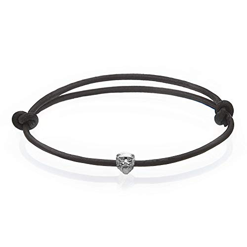 Obelizk Lion Bracelet for Men | Men's Armband or Ankle Band with Lionhead | Geschenk Schmuck-Box + Luxury Accessories Guide