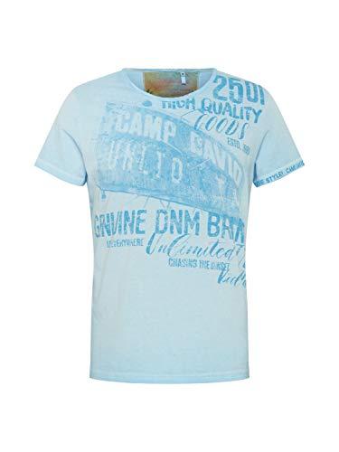 Camp David Herren Shirt hellblau XL