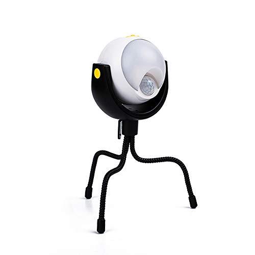 Lixada bewegingsmelder LED-lampen waterdichte kartonnen lamp gazonverlichting buitenshuis bewegingsmelder nachtlampje met statief