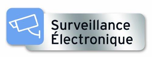 Symbol PSC16 Plaque polycarbonate adhésive 160 x 50 mm Surveillance électronique