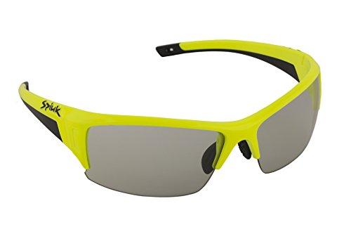 Gafas de sol amarillas, estilo deportivo