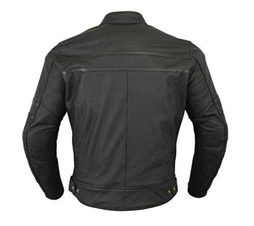 Texpeed Two Tone Leather Racing Jacket - 2