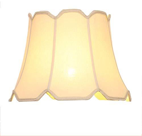 C-J-H Funda de lámpara de Tela E27 para lámparas de Mesa de cerámica,36CM