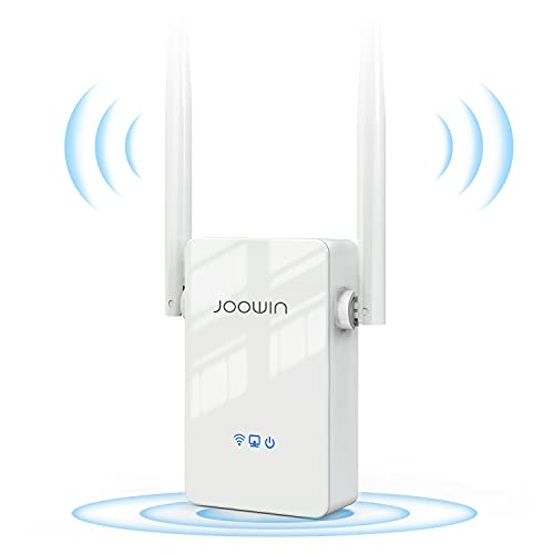 JOOWIN Ripetitore WiFi 300Mbps WiFi Extender 2.4GHz Wireless Amplificatore WiFi, Modalità...