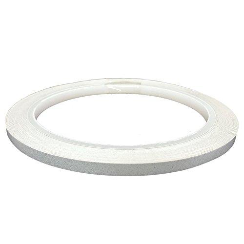 DonDo 3M 610C Reflektierendes Klebeband Reflexfolie Konturmarkierung Silber 5mm x 10m