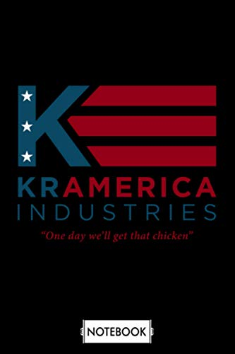Kramerica Industries Notebook: Lined College Ruled Paper, Planner, Diary, Journal, 6x9 120 Pages, Matte Finish Cover