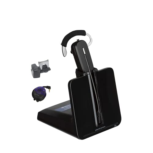Plantronics CS540 Wireless Headset System Bundled with Lifter and Busy Light- Professional Package