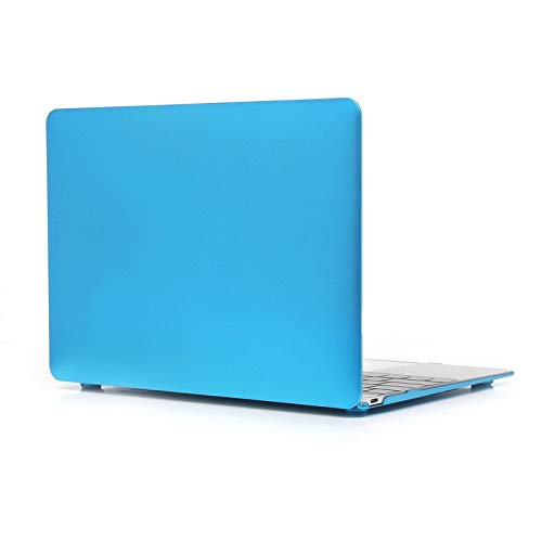 XINGCHEN Phone Shell Metal Texture Series Hard Shell Plastic Protective Case for Macbook 12inch Case Cover (Color : Blue)