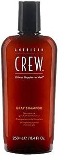 American Crew Gray Shampoo for Men, 8.45 Fl. Oz.