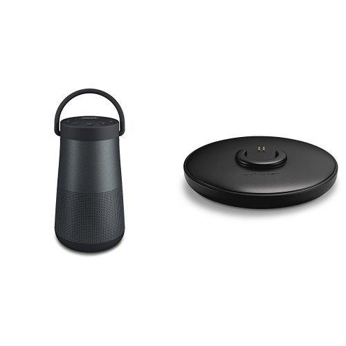Bose SoundLink Revolve+ Bluetooth Lautsprecher schwarz + Ladeschale