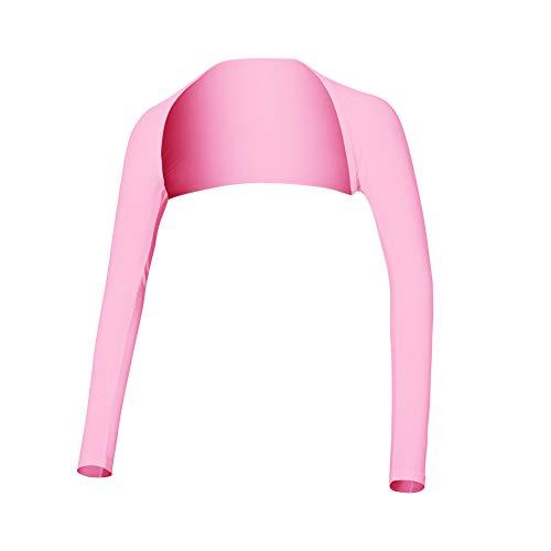 Sun Protection Arm Sleeve - Golf Bekleidung Shirts Womens Advanced Cooling Shawl zum Reiten, Golfen, Outdoor-Aktivitäten, Pink