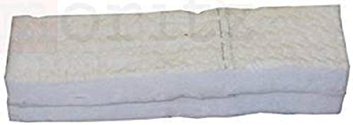 2 x Keramikschwämme 30 x 10 x 1,3 cm BioFlex Keramische Wolle Keramik Wolle für Ethanol original Moritz