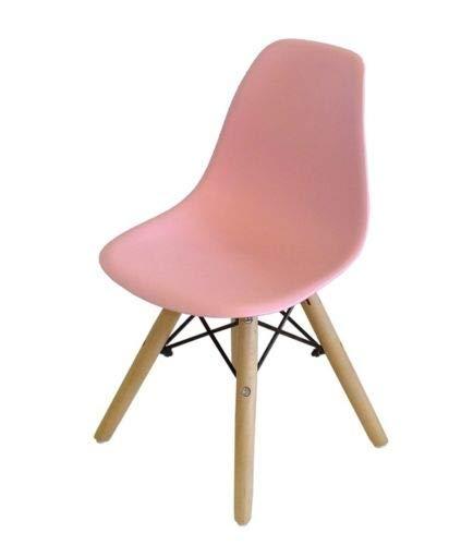 Milano 1er oder 4er Stuhl für Kinderzimmer Kinderstuhl Kinder Stuhl (Rosa, 1)