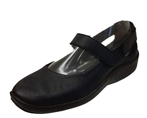 Arcopédico - L51 Negro. Muy cómodos, sin puntos de presión. El Lytech se adapta a juanetes, dedos en garra o martillo, anchos... Doble soporte del arco que favorece una forma natural de andar. (39)