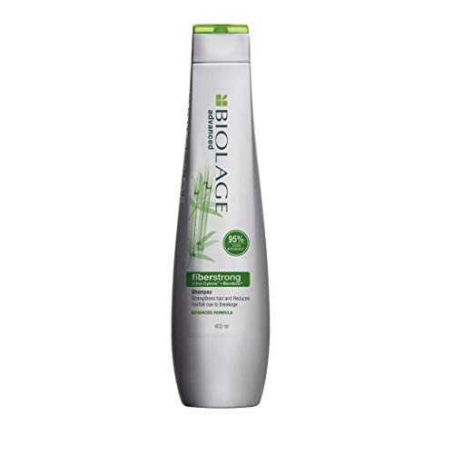 BIOLAGE Advanced Fiberstrong Shampoo   Paraben free Reinforces Strength & Elasticity   For Hairfall due to hair breakage