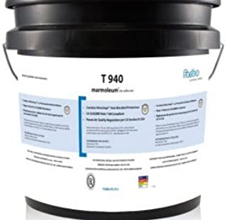 Forbo T 940 Adhesive 1 Gallon Pail | iDECOR Recommends to use it with Marmoleum Tile (MCT, Modular, Dual), Allura, Flotex Tile and Allura Flex, Colorex SD/EC Tile