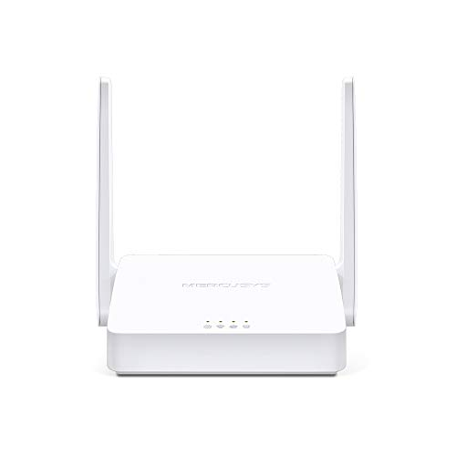 MERCUSYS N300 Wireless WiFi Router MW301R | Two 5dBi Antennas | 300Mbps Wi-Fi Speed | IPv6 Compatible | Parental Control | Guest Network - White