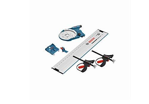 Bosch Professional Systemzubehör-Paket FSN OFA 32 KIT 800 (beinhaltet Führungsschiene mit Lochraster, Führungsschienenadapter, 2 Klemmzwingen, Zusatzadapter)