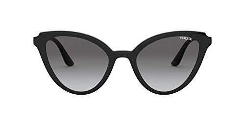 Vogue Sonnenbrille VO5294S W44/11 schwarz grau größe 55 mm brille für damen