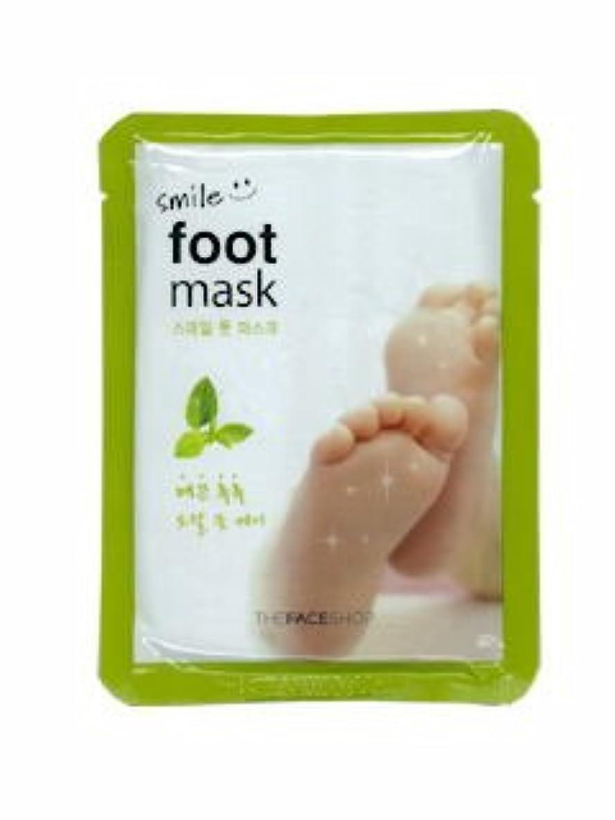 学んだたとえつまらない【THE FACE SHOP ( ザフェイスショップ )】 SMILE FOOT MASK スマイル フット マスク