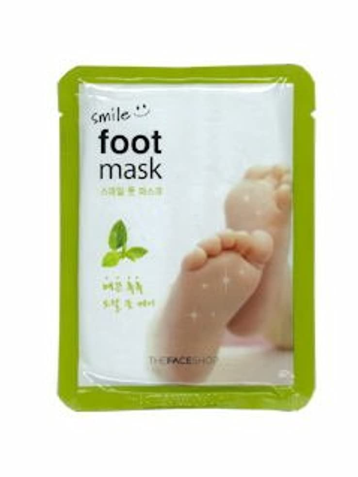 今後体サスペンション【THE FACE SHOP ( ザフェイスショップ )】 SMILE FOOT MASK スマイル フット マスク