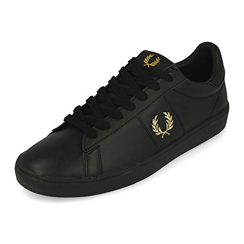 Fred Perry Spencer Leather Black EUR 45