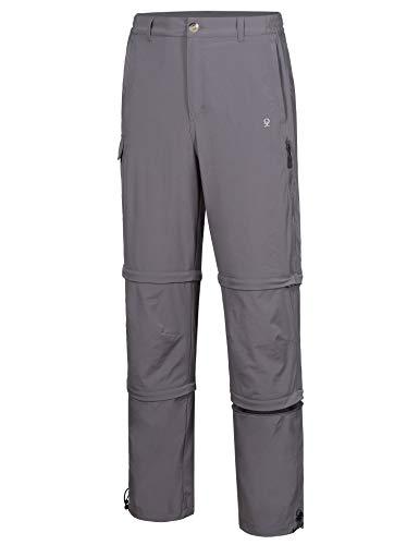 Little Donkey Andy - Pantalones de senderismo para hombre, elásticos, desmontables y de secado rápido