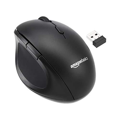 7. Ratón óptico inalámbrico Amazon Basics