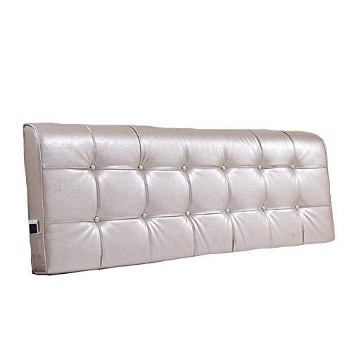 HuHD hoofdbordkussen rugkussen Lebao nachtkussen kussens grote rugleuning Soft Pack, slaapkamer tweepersoonsbed afneembaar en wasbaar, keuze uit 5 kleuren, 8 maten 210cm 9