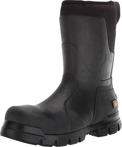"Caterpillar Unisex-Adult Stormers 11"" Steel Toe Work Boot Construction, black, 6"