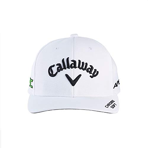 Callaway Gorra de Golf TA Performance Pro 21 para Hombre, Color Blanco