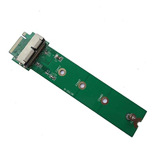 ALIKSO PCIe SSD to M.2 Key M Adapter Card for 2013 2014 2015 2016 2017 MacBook Air Mac Pro A1465 A1466 A1398 A1502