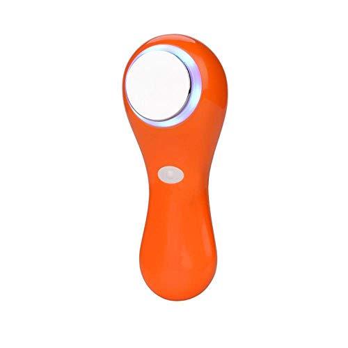 Uso en el hogar Máquina de elevación Facial Multifunción Eléctrico Led Luz de fotón Piel Instrumento de Belleza Masajeador Facial Limpiador Cara Limpieza Profunda Raspado Rojo