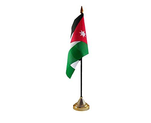 Jordanië Hand Tafel of Waving Vlag Land - Geen Basis