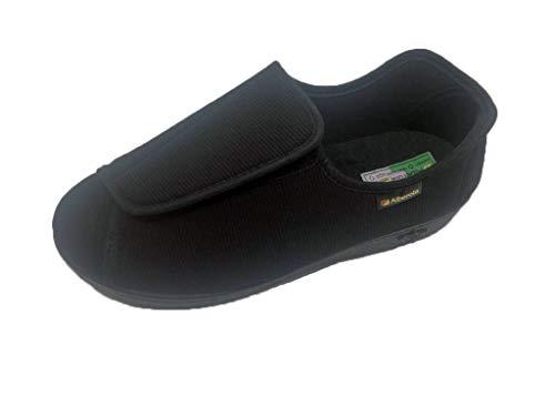 Zapatillas de Estar por Casa/Extra Ancha/Téxtil/Colores Negro/Beige/Especial Pies con Vendaje/Ancho Especial/Hombre/Mujer/Tallas 36/46