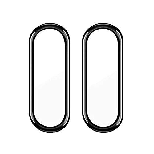 Kit 2x Películas 5D Bordas Compatível Xiaomi Mi Band 6 Anti Riscos + Kit Aplicação [Coronitas Acessorios]