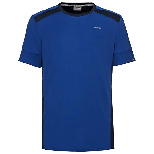 Head Camiseta Uni Hombre, Hombre, Camiseta, 811249rodbxl, Azul Real/Azul Oscuro, XL
