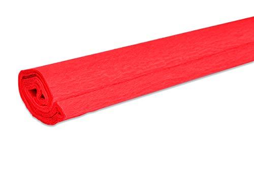 Papier crépon VBS, 50 x 200 cm, 32 g/m² Rouge