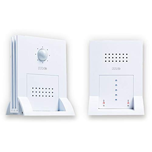 m-e modern-electronics Durchgangsmelder DGF-300 Weiß mit Bewegungsmelder 41058