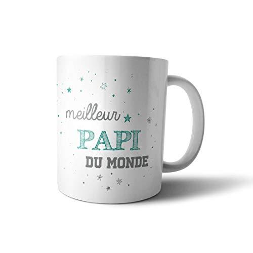 Mugs tasse cadeau - meilleur papi du Monde