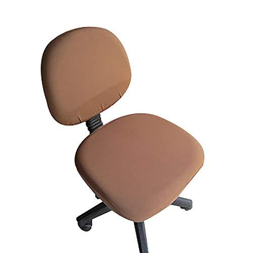 loghot silla cubre Spandex Universal ordenador oficina escritorio Stretch rotación color puro cubierta de la silla