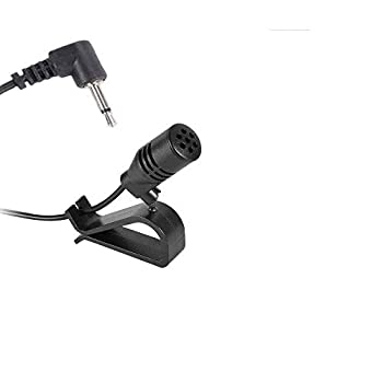 2.5mm Microphone Assembly Mic for Car Vehicle Head Unit Enabled Stereo Radio GPS DVD for Pioneer  2.5mm