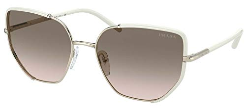 Gafas de Sol Prada PRADA PR 50WS Pale Gold White/Grey Pink Shaded 58/18/140 mujer