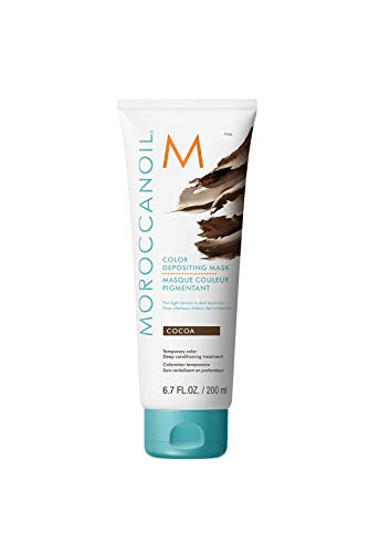 Moroccanoil Color Depositing Mask, Cocoa, 6.7 oz
