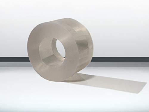 Weich PVC Rolle klar - transparent - 25m200x3mm PVC Streifen Lamellenvorhang